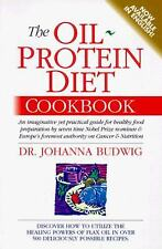 The Oil Protein Diet Cookbook by Johanna Budwig