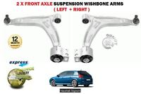 FOR VAUXHALL OPEL SIGNUM 2003-> 2 X FRONT LOWER SUSPENSION WISHBONE ARMS SET