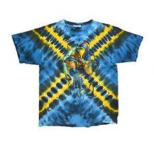 Vintage 1999 Tie Dye Wolverine X Men T Shirt Large