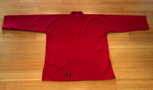 Century Martial Arts Karate Gi Top Size 4 Adult L Preowned, Red