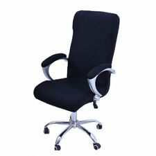 Large Elastic Computer Office Rotating Chair Cover Stretch Slipcover Protector