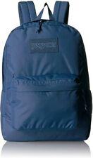 JanSport Superbreak Mono Collection Dark Denim Laptop School Backpack