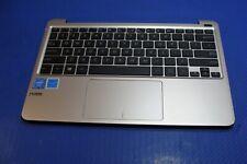 "Asus E200HA-UB02-GD 11.6"" Genuine Palmrest w/Touchpad Keyboard Speakers ER*"