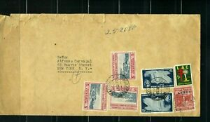 COLOMBIA, CUCUTA-  via B/QUILLA TO NEW YORK U.S.  JUL 20 1957