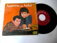 """ANNETTE SINGS PAUL ANKA"""" IT'S REALLY LOVE-disco DYSNEYLAND It 1962"""" VERY RARE"""
