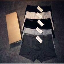 5 Pieces Muji Men's Cotton Boxer Briefs Short Pouch Soft Underpants Knickers Boy