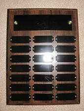 Perpetual (Fantasy Football) Award Plaque 21 Plate, 9x12 Trophy 2 Finishes