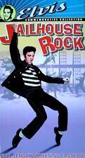 ELVIS PRESLEY, JUDY TYLER - JAILHOUSE ROCK - MGM / UA - VHS TAPE  - SCREENER