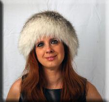 New Marble Fox Fur Headband - One Size Fits All-Efurs4less