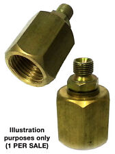"""1/8"""" BSP MALE TO CO2 HPA ADAPTER BULK FILLING"""