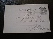 FRANCE carte entier 1887 (cy14) french