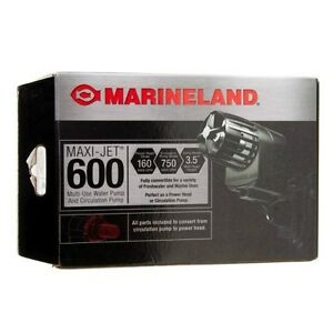 Marineland Aquarium Fish Maxi-Jet MaxiJet Maxi Jet 600 Water Pump & Power Head