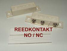 Magnet-Kontakt Magnetschalter Reedkontakt REED WECHSLER NC NO Öffner Schließer