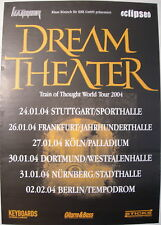 DREAM THEATER CONCERT TOUR POSTER 2004 TRAIN OF THOUGHT