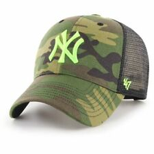 47 Brand Trucker Cap - BRANSON NY Yankees wood camo