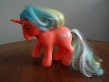 Speedy VINTAGE MY LITTLE PONY Twinkle Eyes Unicorn 1985 Hasbro Bradley G1 MLP TE