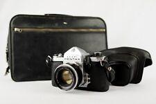 Asahi Pentax S2 35mm Film Camera + Auto-Takumar 55mm f/2 Lens + Accessories