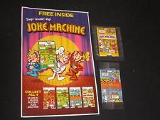 Kellogg's Rice Krispies Joke machine Cereal Premiums wt CEREAL BOX BACK