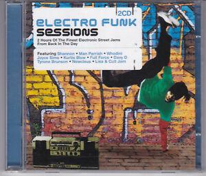 "2CD ""Electro Funk Sessions"" Davy DMX Man Parrish Newcleus Tyrone Brunson Shannon"