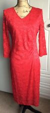 Ladies red lace dress Profile BHS size 14 BNWT stylish gorgeous dress