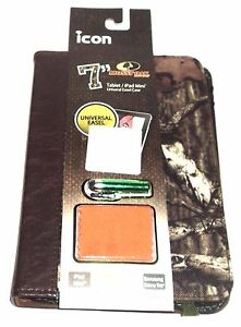 """ICON MOSSY OAK 7"""" Universal Easel Tablet/E-Reader Protector Case  NWT"""