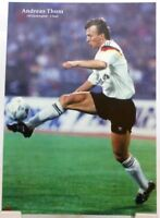 Andreas Thom + Fußball Nationalspieler DFB + Fan Big Card Edition B51 +