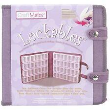 Craft Mates Lockables Ultrasuede Large Organizer Case, Purple , New, Free Shippi
