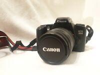 Canon EOS 3000 Analoge SRL Kamera & Canon Zoom Lens EF 28-80mm 1:3,5-5,6 II