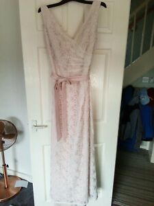 Mori Lee Lace Wedding Dress In Blush By Madeline Gardner size 20
