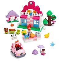 Play Build 95 pc Supermarket Building Blocks & Mini figures Set Duplo Compatible
