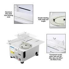 Mini Sega Circolare da Banco Tavolo Elettrica Taglio Legno 7000 g/min 95W DIY