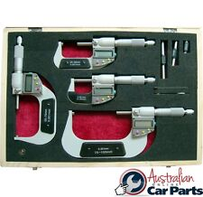 Digital Outside Micrometer Set Imperial / Metric  T&E tools new DM1620SET