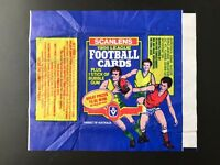 3 WRAPPERS --- 1986 VFL 1987 VFL 1983 SCANLENS WRAPPERS EX