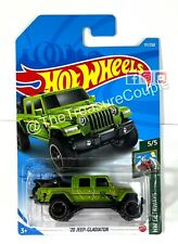 Hot Wheels 2021 NEW L CASE - '20 Jeep Gladiator - NEW Green - S5