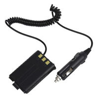 Car Battery Eliminator DC12V Black for Handheld Radio Baofeng UV-5R M1M7) TP