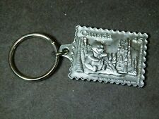 1996 Solid Pewter Winnie The Poo at Disney World Key Chain
