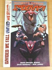 MARVEL GRAPHIC NOVEL ULTIMATE COMICS SPIDERMAN DIVIDED WE FALL UNITED WE STAND