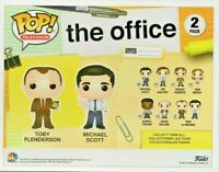 The Office - Toby and Michael Pop! Vinyl Figures 2-Pack Brand new Free delivery