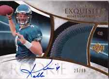 2007 Exquisite KEVIN KOLB Auto 4 Color Patch RC Rookie Card #d 99