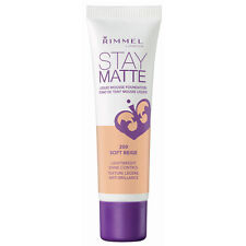 RIMMEL LONDON STAY MATTE LIQUID MOUSSE FOUNDATION 30ML - ALL SHADES