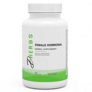 Dherbs Female Hormonal, 100-Count Bottle