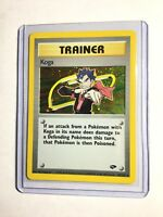 Koga - 19/132 - Gym Challenge - Holo - Pokemon Card - EXC/NEAR MINT