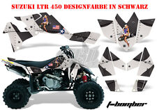 AMR RACING DEKOR GRAPHIC KIT ATV SUZUKI LTR 450 LT-R T-BOMBER B