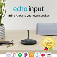 New! Amazon Echo Input – Bring Alexa to your own speaker Black (Qty Discounts!)