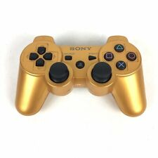 Genuine OEM Sony Playstation 3 PS3 Sixaxis DualShock 3 Gamepad Gold
