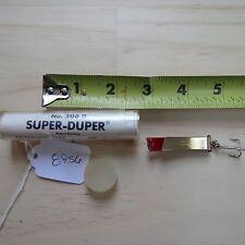 New listing Vintage South Bend Super Duper No. 506 G. 1/4oz patent pend.c.1950s (lot#8956)