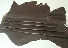 LARGE SOFT BROWN CLOTHING COW HIDE LEATHER  -- #2915