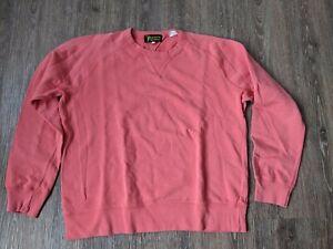 Levis Vintage Clothing 1950s Sportswear Crew Neck Sweatshirt M - rose