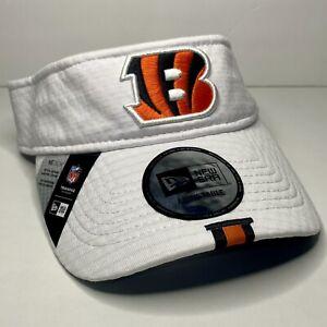 Cincinnati Bengals New Era unisex Visor NFL Fan Apparel White Hat New NWT