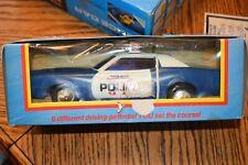 Vintage Radio Shack toy police car programmable in original box untested